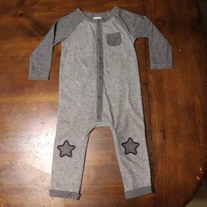 Grey Bodysuit with Stars